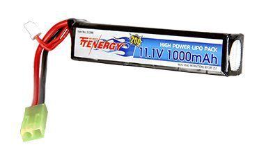 Tenergy 11.1v 100mah Stick Battery