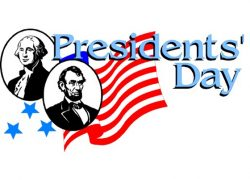 President's Day Weekend!