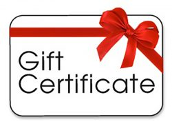 Gift Certificates at GoAirheads