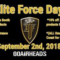 Elite Force Day! 9/2/18