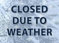 Closed Due to Weather: Oct. 23rd and Oct. 25th