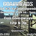 Field #3 Grand Opening!(12/15/18)