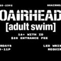 Adult Swim Every Saturday night THROUGH September