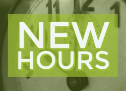 2020 School Year Hours: Effective 8/24/-3/31