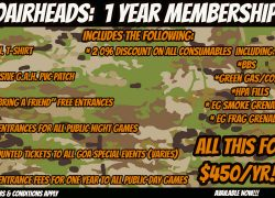 GoAirheads 1 Year Memberships are Available NOW!!!